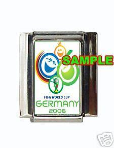 2006 World Cup Logo Custom Italian Charm Germany cool!