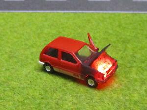 1-87-Suzuki-Swift-H0-Motorbrand-LED-12V-Feuer-Tuer-Geoeffnet-Laser-Cut-Patina-12