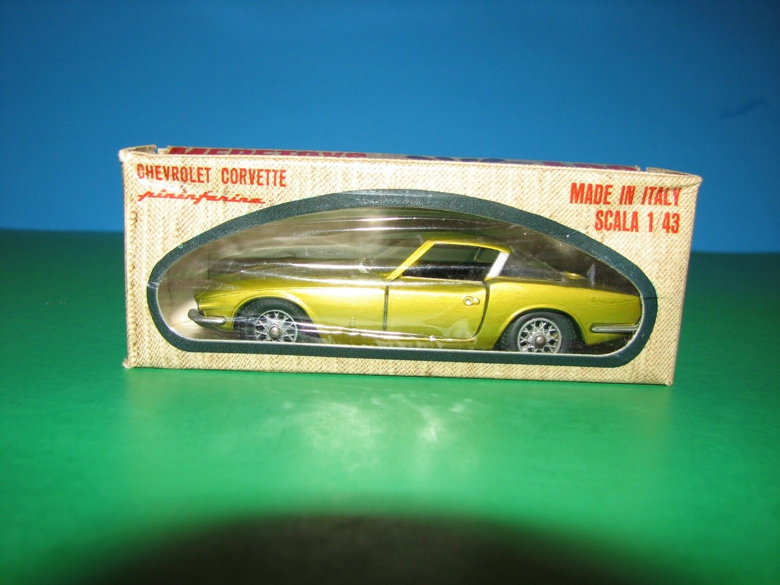 Mebetoys  Chevrolet Corvette Coupe Rondine A22 - In In In Original Box - Made in  5c0d73