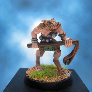 Painted-Ral-Partha-Crucible-Miniature-Tauren-Varmint