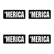 Hard Hat Merica Stickers 4 Pack Funny Construction Welder Usa Decals Hh067