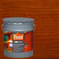 5 Gal Redwood Transparent Cwf Uv Acrylicoil Penetrating Exterior Wood Stain