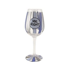 Our Name is Mud ONM4017989 Mr Right Wine Glass