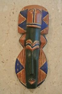 Hand-Carved-Hand-Painted-Wooden-African-Wall-Art-12-1-2-034-Blue-Brown-Black
