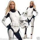 CL388 Star Wars Storm Trooper Stormtrooper Ladies Halloween Fancy Suit Costume
