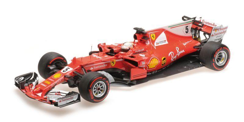 Ferrari Sf70-h Scuderia Ferrari S. Vettel Winner Gp Monaco 2017 1 18 Model BBR