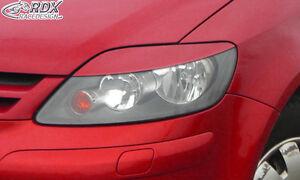 RDX-Scheinwerferblenden-VW-Golf-5-Plus-Boeser-Blick-Blenden-Spoiler-Tuning