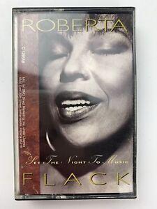 Roberta Flack Set The Night To Music (Cassette)