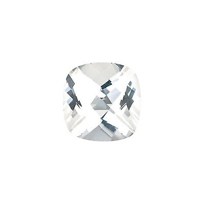 Natural White Topaz Cushion Cabochon 5X5MM To 10X10MM Loose Gemstone Free Shipiing.