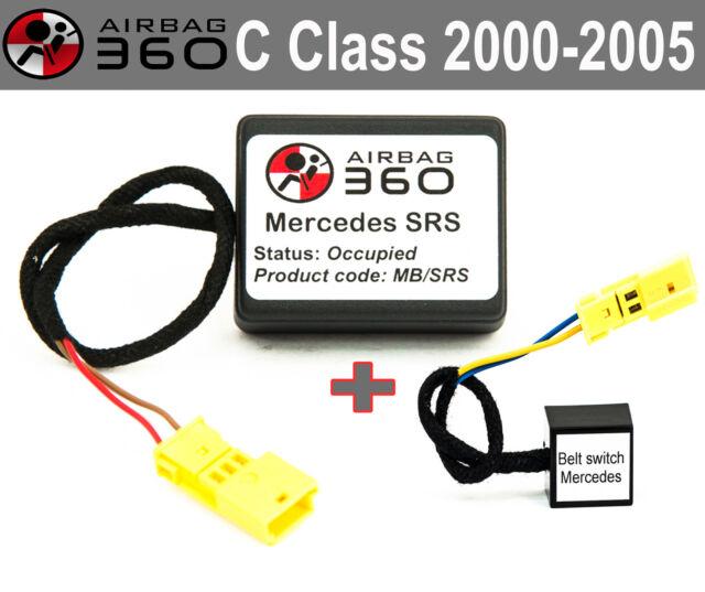 mercedes c180 srs malfunction