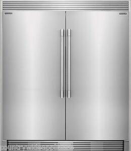 Frigidaire Pro Stainless Refrigerator Freezer Combo Amp Trim