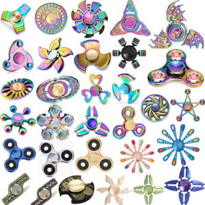 Newest-Rainbow-Fidget-Hand-Spinner-Metal-EDC-Fingertip-Stress-Relief-Focus-Toys