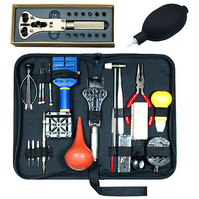 20PCS Watch Repair Tool Kit  - Case Opener - Watch Hand remover - Dust Blower