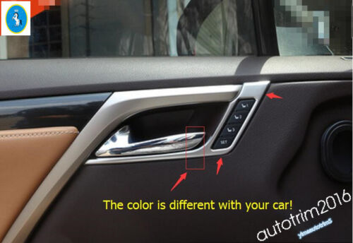 Chrome Inner Door Handle Bowl Trim Accessories For Lexus RX 200t 450h 2016-2019