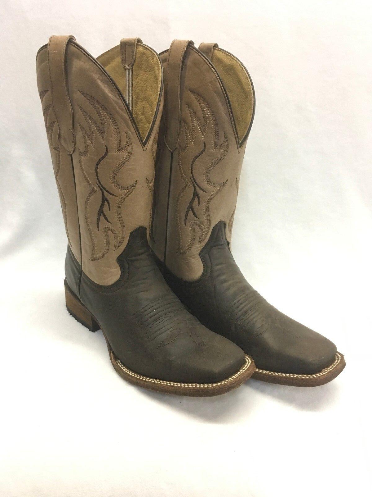 Men's Circle G Boots-Tobacco Cognac Style L5095