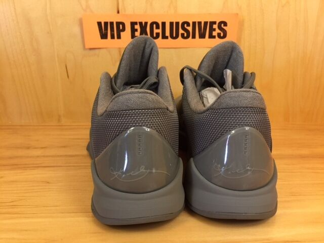 2341b621c193 Nike Zoom Kobe V 5 FTB Fade To Black Tumbled Grey Black Mamba 869454 ...