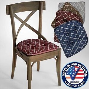 Superb Image Is Loading NEW Gripper Chair Pads Nonslip Trellis Chair Pad