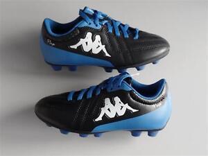 26bbd611ae506 Image is loading Kappa-4-Soccer-Player-FG-kid-Footwear-Black-