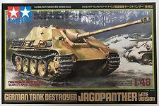Tamiya 32522 German Tank Destroyer Jagdpanther Late Version 1/48 Model Kit NIB