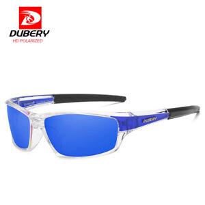 Dubery Herren Polarisierte Sport Sonnenbrille Outdoor Radfahren Blau Linse Brille Neu