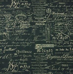 excellent french script fabric by the yard. Image is loading BALLARD DESIGNS DOCUMENT INK INDIGO BLUE D4036 French  Script