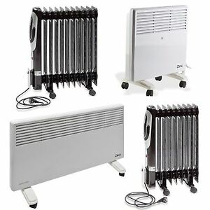 konvektor lradiator heizk rper heizstrahler elektro heizung heizger t heizer ebay. Black Bedroom Furniture Sets. Home Design Ideas