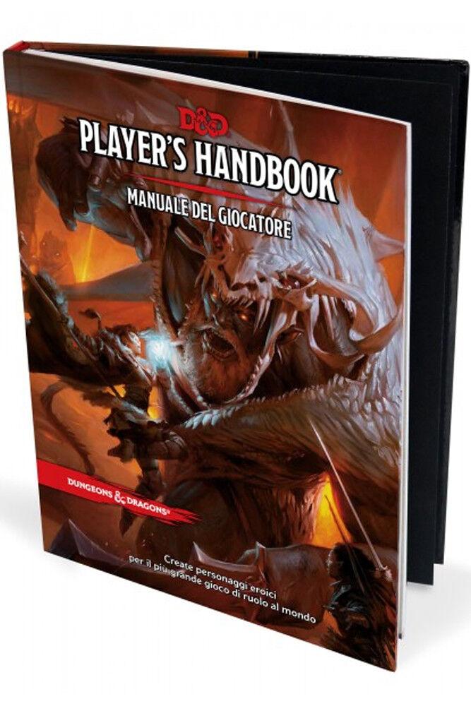 Dungeons & Dragons d&d V Edizione manuale del giocatore [Italiano] Handbook
