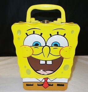 Spongebob-Squarepants-Lunch-Box-Tin-Embossed
