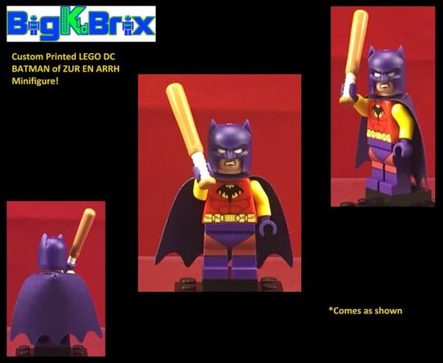 BATMAN of ZUR EN ARRH Custom Printed LEGO DC Minifigure Minifig