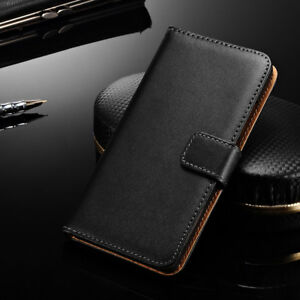 Genuine-Leather-Wallet-Flip-Case-Cover-For-Xiaomi-Mi-A1-Max-2-Redmi-5-5-Plus