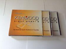 KENWOOD Urban Power 3 3 CD SET