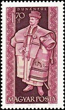 HUNGARY - 1963 - FOLK COSTUMES - Dunántúl man - MNH Scott #1544 Stamp