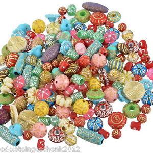 100g-Mix-Acrylperlen-Beads-Bastelset-Bastelbedarf-Restposten-Konvolut-5