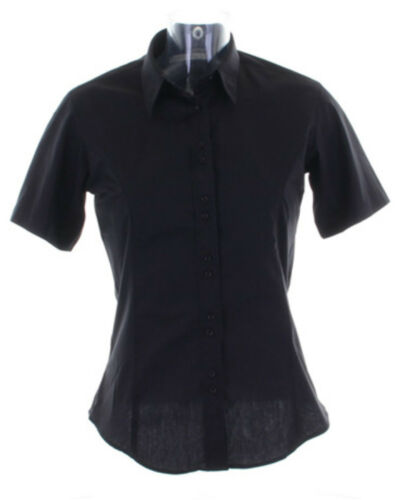 Kustom Kit Ladies City Short Sleeve Blouse-KK387