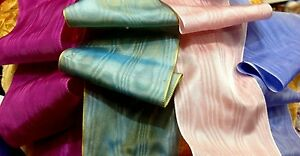MOIRE-3-034-RAYON-RIBBON-Made-in-Germany-1yd-Woven-Edge-Pleating