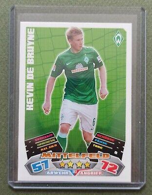 Kevin de Bruyne # 382 SV Werder Bremen Rookie RC Match Attax Extra 2012// 2013