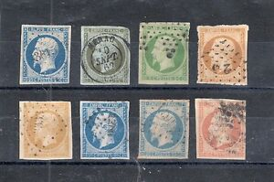 Timbres-France-Obliteres-N-10-a-16