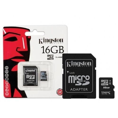 16 Go Micro Sd Carte Mémoire + Adaptateur Pour Samsung Galaxy J1, Galaxy J5 & Galaxy J7 Dans Beaucoup De Styles