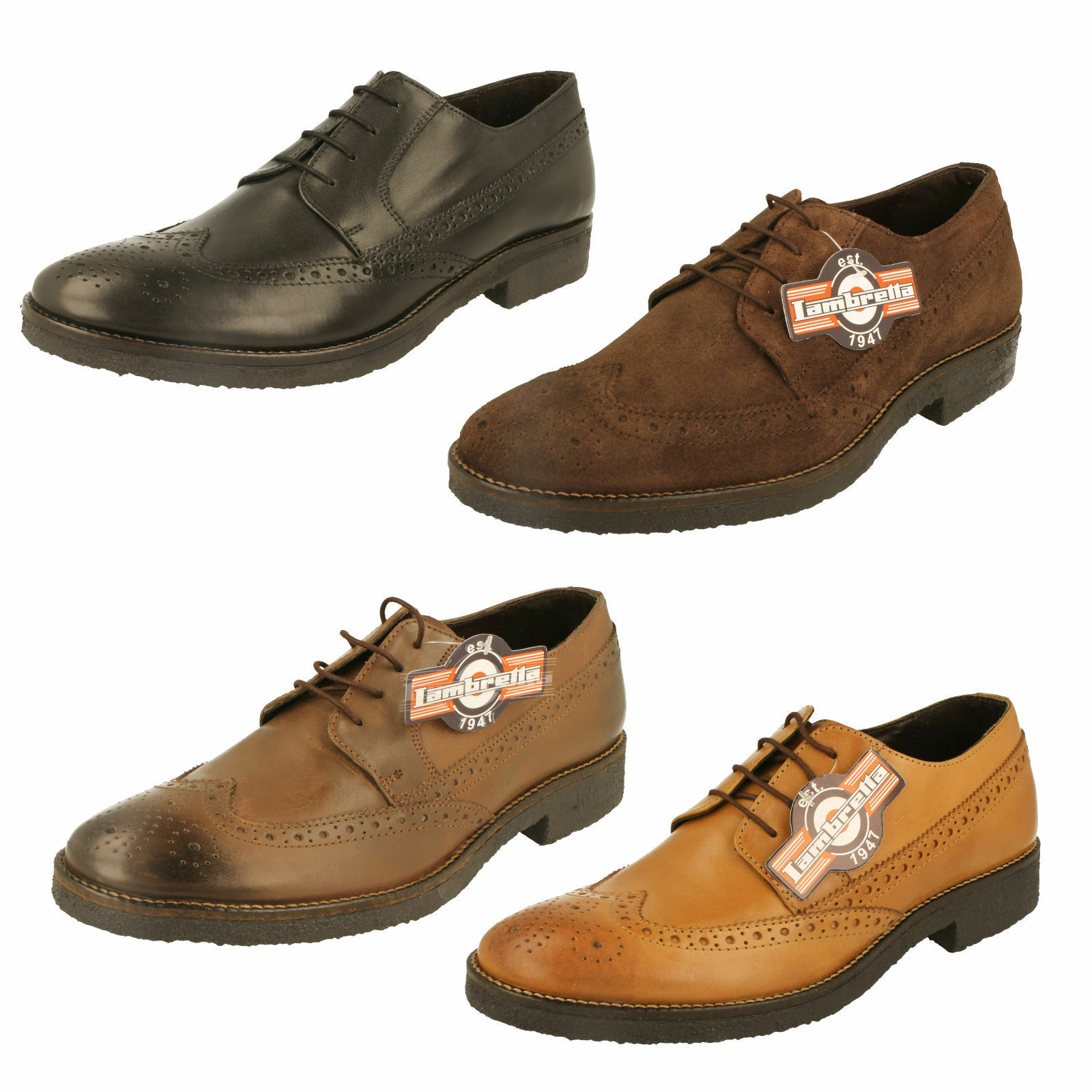 Mr/Ms Mens M-82 Lambretta Brogue Shoes - M-82 Mens High quality and cheap At a lower price Explosive good goods 30dbf5