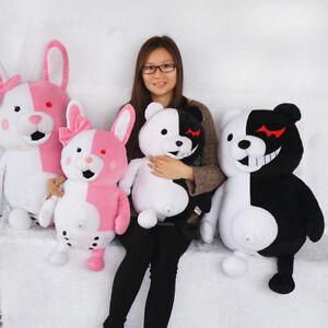 Cute Danganronpa Monokuma Bear Monomi Rabiit Stuffed Plush Toy Doll Xmas Gift