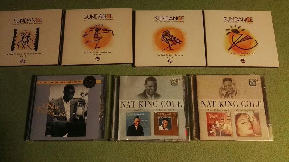 Various: Stunt Records, Nat King Cole, jazz