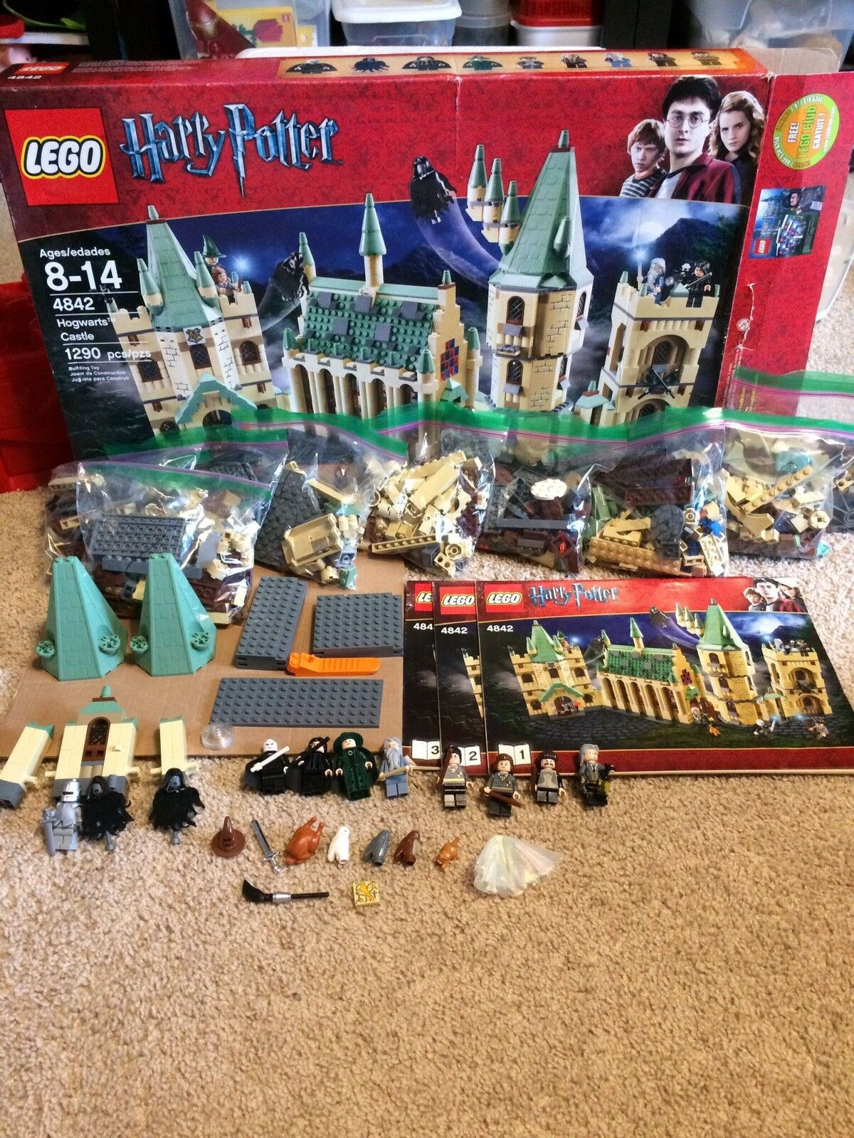 LEGO Harry Potter Hogwart's Castle 2010  4842  Used and 100% Complete