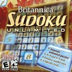 Britannica-Sudoku-Unlimited-Brain-twisting-fun-for-all-ages-New-in-Box