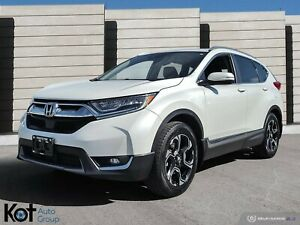 2017 Honda CR-V AWD Touring, LOW KM, NAVIGATION, GREAT CONDITION