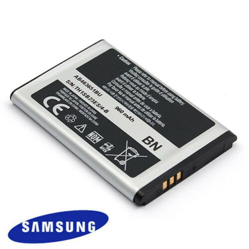 AB463651BU Original Samsung Li-Ion 960mAh Battery S5560 Player 5 S7070 Glamour