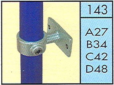 143 Pipe Key Clamp Kee Tube Klamp Scaffold Handrail Fitting Q
