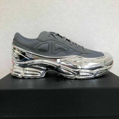 Size 7 - adidas Ozweego x Raf Simons Mirrored - Ash 2019
