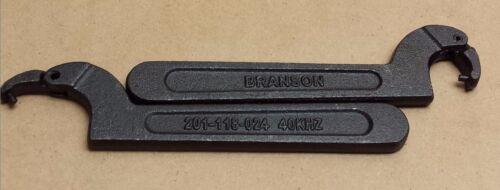 Branson Spanner Wrench 201-118-024   #2821
