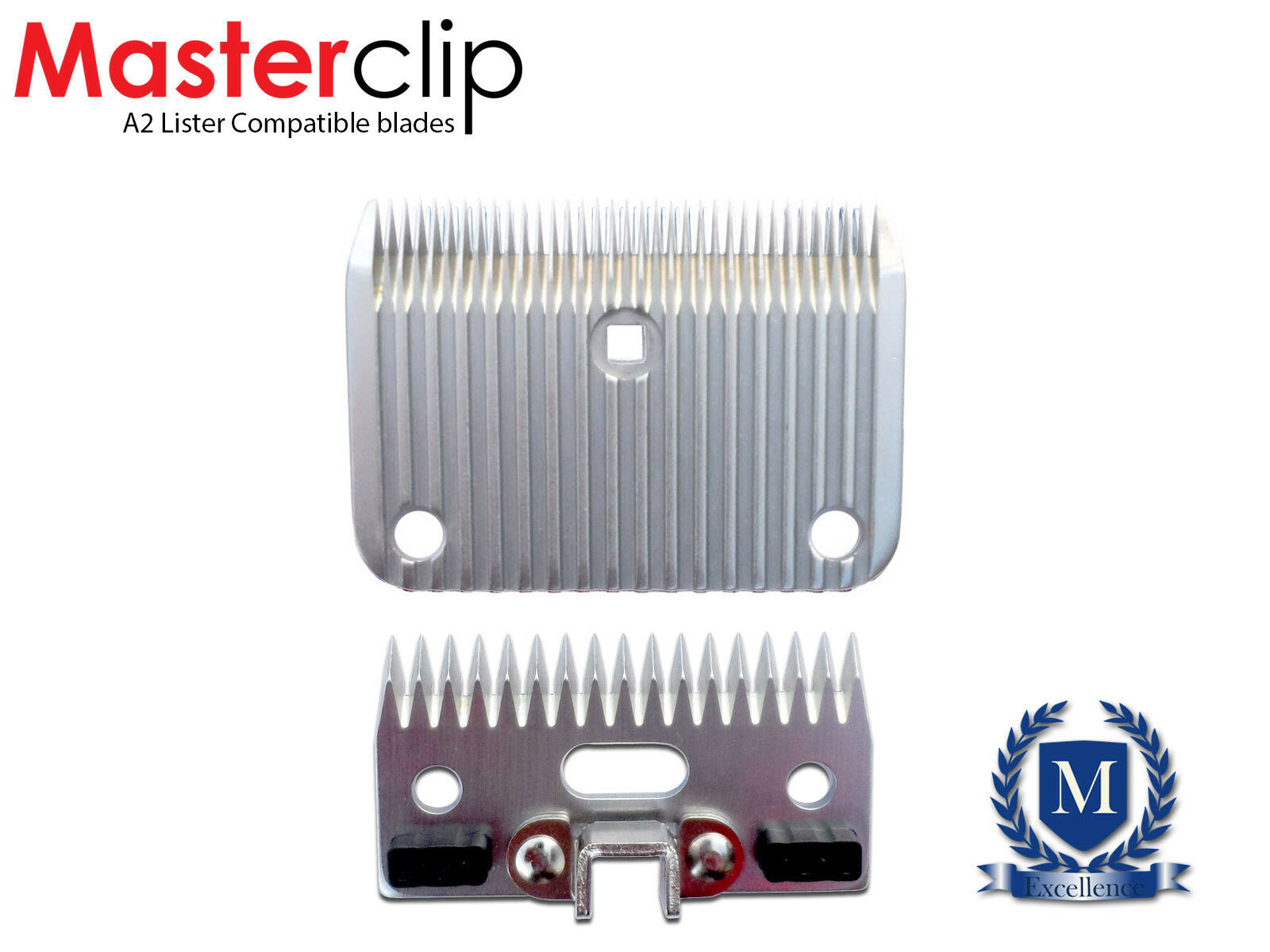 Horse Clipper Blades Masterclip Clipping  Compatible with Lister A2   hot