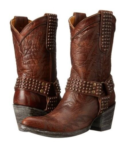 NEW in Box Old Gringo Women's Cowgirl Western Boot Brass Size 8   600